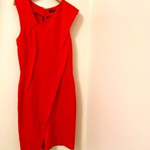 French Connection Dress Vibrant orange-red. Size:4